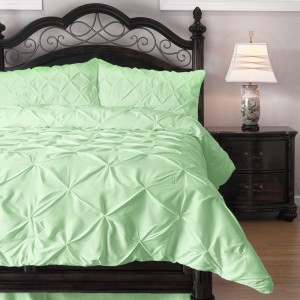 Emerson Pinch Pleat 4-Piece Lightweight Summer Comforter Set