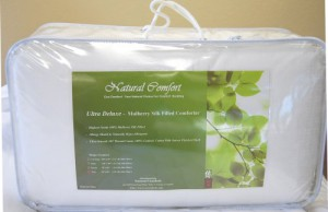 Natural Comfort Ultra Deluxe 100-Percent Natural Mulberry Silk