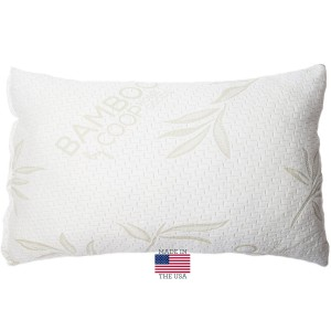 Shredded Memory Foam Pillow with Bamboo Cover by Coop Home Goods (2)