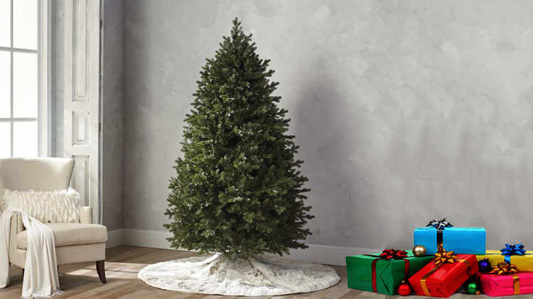 super popular 431f1 28c07 Cheapest Pre Lit Christmas Trees - A Very Cozy Home