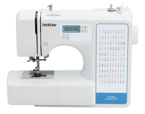 Brother 100 Computerized Sewing Machine CE1008
