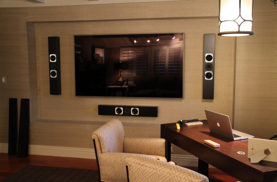 in-wall sound system