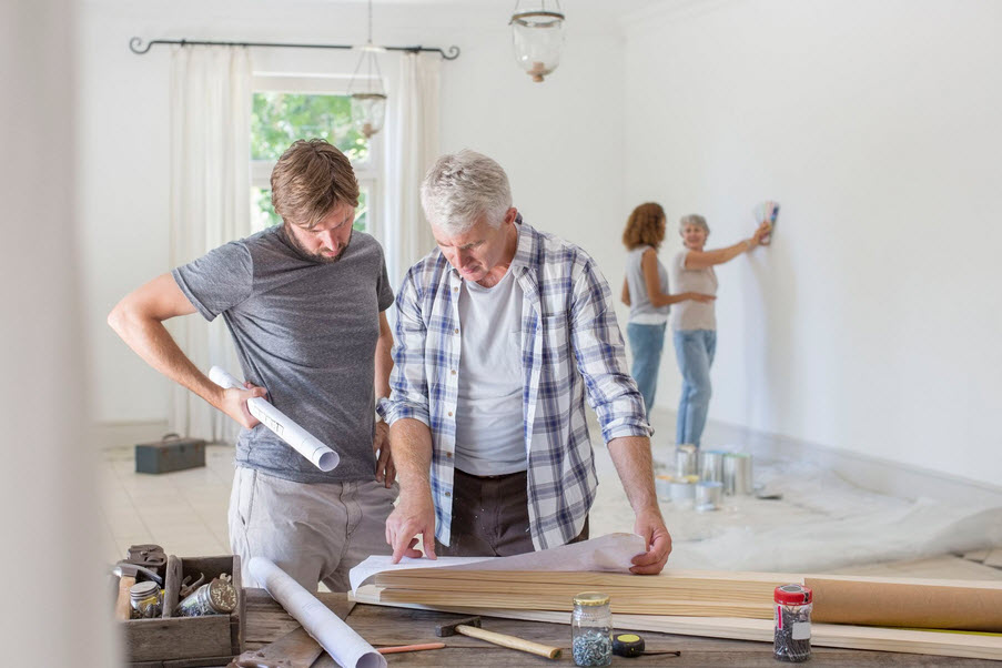 organize your home renovation