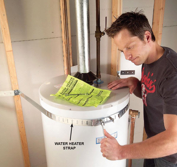 take care of the water heater