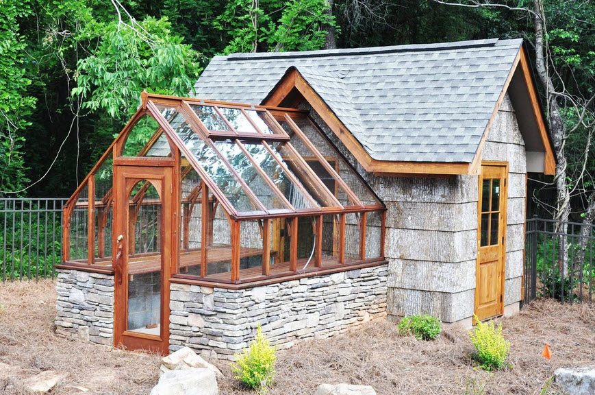 Prepare the greenhouse and any other sheds in the garden
