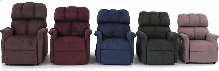 Sizes of lift chairs